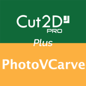 Vectric Cut2D Pro ja PhotoVCarve
