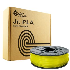 XYZprinting DaVinci Junior Mini PLA 600g Clear Yellow